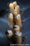 rigatoni alla ricotta e tartufo con crema di funghi 1sL