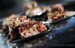 finger food with tuna