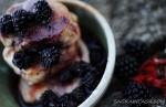 pork fillet with blackberries