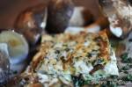 Lasagna Porcini mushrooms and Truffles