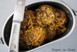 chicken and veal meatballs