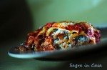 Ricotta and aubergine cannelloni
