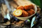 Homemade olive ascolane