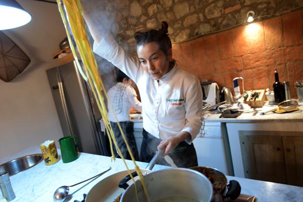 Simona Fabrizio Private Chef , picture by Nick Cornish